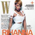 Rihanna plus sexy que jamais dans les coulisses du shooting de W Magazine