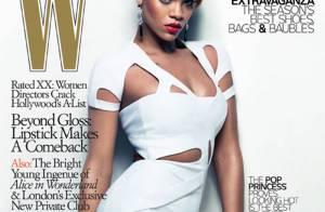 Rihanna nue sous un trench dans les coulisses d'un shooting... diablement sexy !