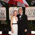 Suzy Amis et son mari James Cameron lors des Golden Globe 2010, le 17 janvier dernier au Beverly Hilton de Los Angeles