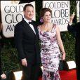 Tom Hanks et Rita Wilson lors des Golden Globe 2010, le 17 janvier dernier au Beverly Hilton de Los Angeles