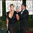 Mariah Carey et son mari Nick Cannon lors des Golden Globe 2010, le 17 janvier dernier au Beverly Hilton de Los Angeles
