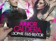 """Sophie Ellis-Bextor, l'atout charme du nouveau hit de Junior Caldera... Ecoutez """"Can't fight this feeling"""" !"""