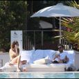 Whitney Port en vacances à Miami Beach