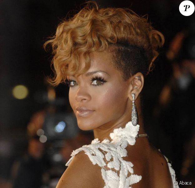 Rihanna aux NRJ Music Awards, le 23 janvier 2010