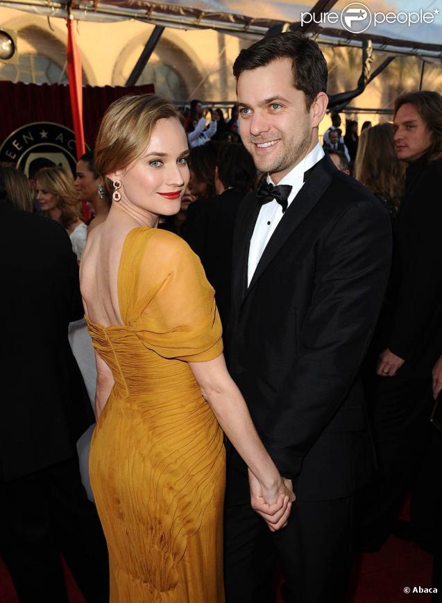 Diane Kruger et Joshua Jackson à la 16ème soirée des Screen Actor Guild Awards à Los Angeles, le 23 janvier 2010