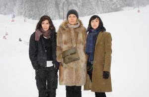 Anne Parillaud, Valérie Benguigui et Linh Dan Pham : un trio de charme qui affronte les pires intempéries !
