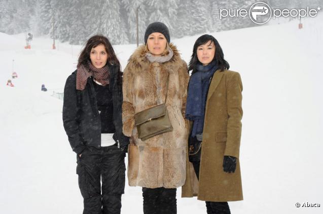 Anne Parillaud, Valérie Benguigui et Linh Dan Pham lors du festival international du film fantastique de Gérardmer le 28 janvier 2010