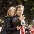 Nathalie Baye et Eric Cantona dans le film Ensemble, c'est trop