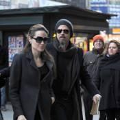 Brad Pitt et Angelina amoureux ont vibré pour la Nouvelle-Orléans... avec leur adorable Maddox ! (Réactualisé)