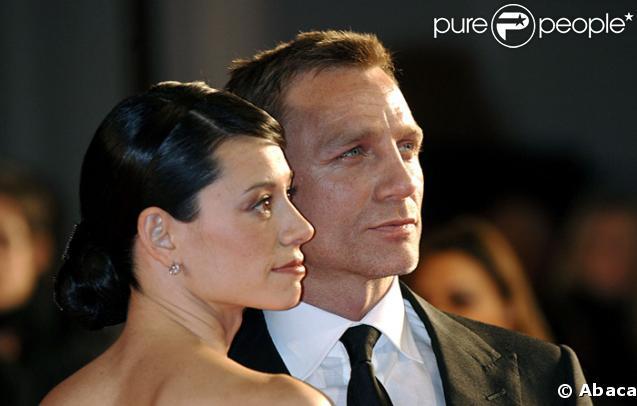 Daniel Craig et Satsuki Mitchell