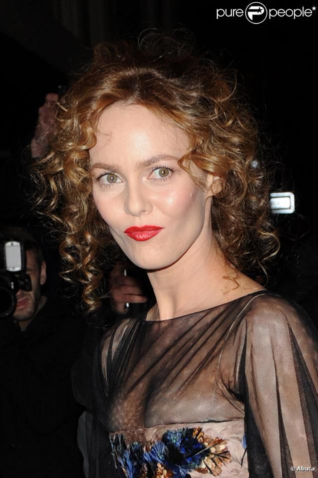 Vanessa Paradis à New York pour une soirée organisée par la maison Chanel. Le 9 février 2010
