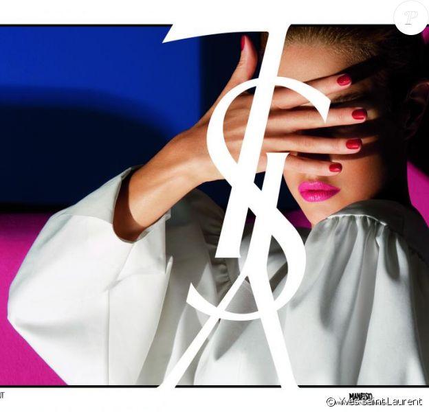 Natalia Vodianova en couverture du nouveau Manifesto Yves Saint Laurent