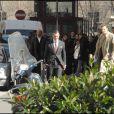 """""""Antonio Banderas et Liam Neeson sur le tournage de 'The Other Man'"""""""