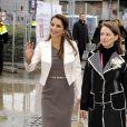 """""""Rania de Jordanie lors d'un forum économique à Barcelone le 16/02/10 """""""