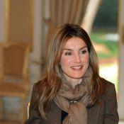 Pour contrer Rania de Jordanie, Letizia sort... le cuir !