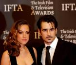Colin Farrell et Alicja Bachleda-Curus à la 7e édition des Irish Film and Television Awards. 20/02/2010