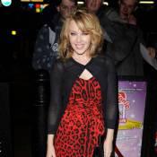 Kylie Minogue mise sur le rouge... pour un show très sexy !