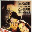 Michèle Morgan et Jean Gabin dans Quai des brumes de Marcel Carné (1938)