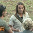Olivier explique aux fermiers que cette semaine ils vont partir à la recherche des animaux de la réserve