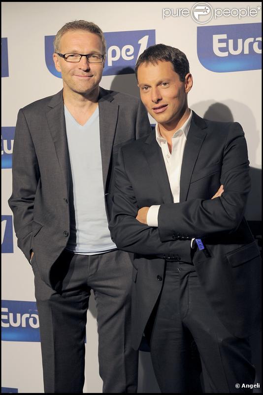 Marc-Olivier Fogiel et Laurent Ruquier