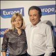 Michel Drucker et Wendy Bouchard