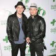 Joel Madden et Benji Madden, les frères jumeaux les plus rock'n'roll lors de la 7ème Pré-soirée des Oscars au Avalon à Hollywood le 3 mars 2010