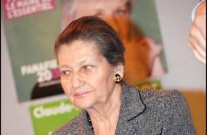 Simone Veil, 82 ans, la femme préférée des français : trois présidents de la République font d'elle une