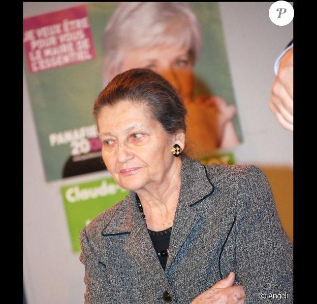 Simone Veil vient d'être élue personnalité féminine préférée des Français, par un sondage publié par le JDD.
