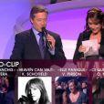 Patrick Sabastier et Daniela Lumbroso sont chargés de remettre la Victoire du Vidéo-clip.