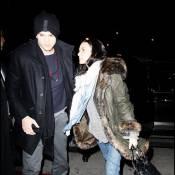 Quand les amoureux Demi Moore et Ashton Kutcher se réfugient... dans la boisson !