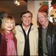 Patrick Topaloff, Jean Pierre Foucault et la chanteuse Stone, le 6 mars 2007 !