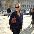 Alysson Paradis au défilé Chanel le 9 mars à Paris au Grand Palais