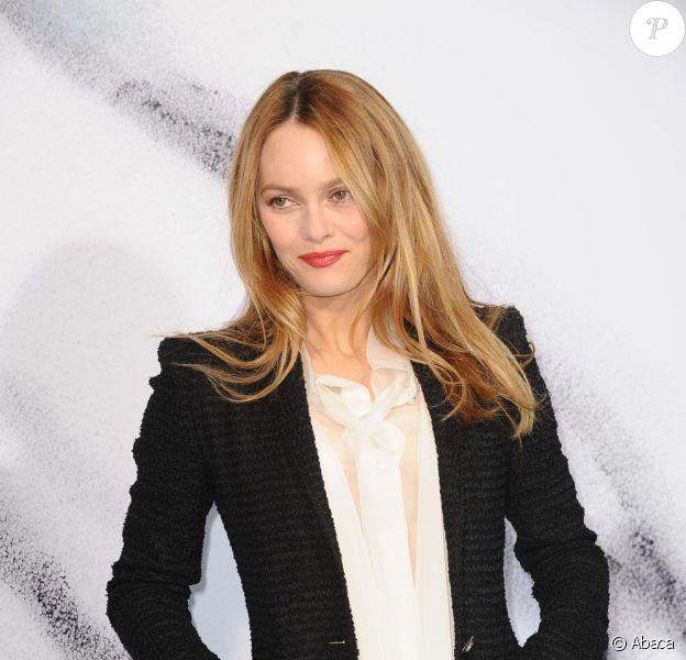 Vanessa Paradis au défilé Chanel le 9 mars