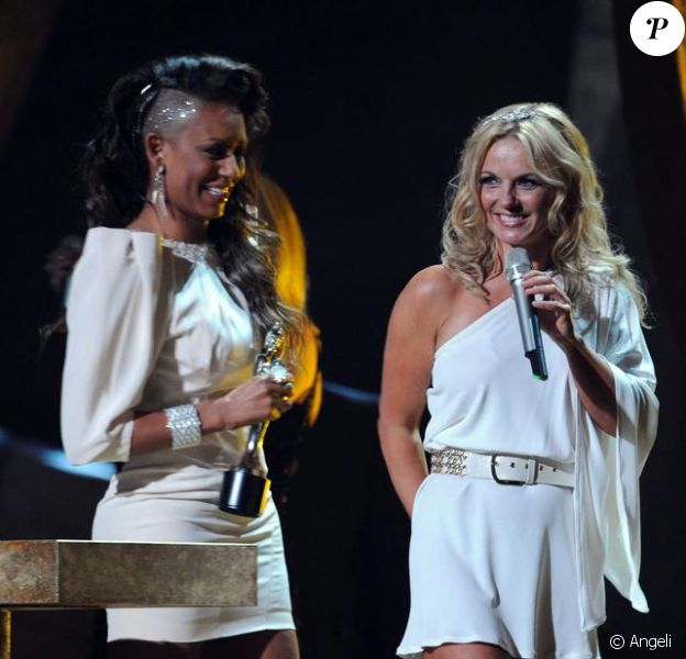 Mel B et Geri HAlliwell aux Brit Awards