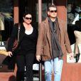 Pierce Brosnan et sa femme Keely (11 mars à Malibu)