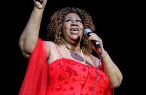 Aretha Franklin : à 68 ans, la Queen of Soul est toujours explosive sur scène !