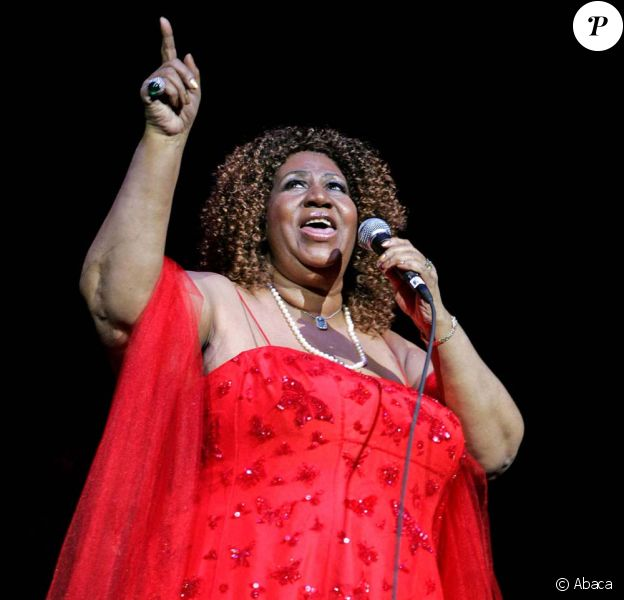 Aretha Franklin en concert au Seminole Hard Rock Hotel and Casino, à Hollywood en Floride, le 16 mars 2010 !