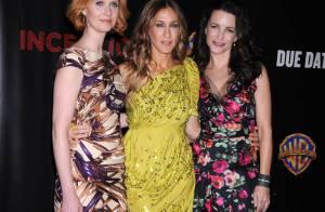 Concours de gambettes pour Jennifer Lopez, Katherine Heigl, Sarah Jessica Parker et ses copines... face au beau Josh Duhamel !
