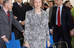 Grosse frayeur pour la reine Sofia d'Espagne, victime d'une avarie de son hélicoptère !