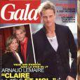Arnaud Lemaire en couverture de Gala