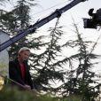 Arnaud Lemaire sur la terrasse de la maison où s'est déroulé le jeu L'amour est aveugle
