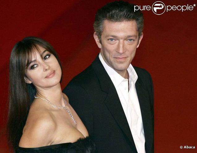 Monica Bellucci et Vincent Cassel mariés depuis 1999
