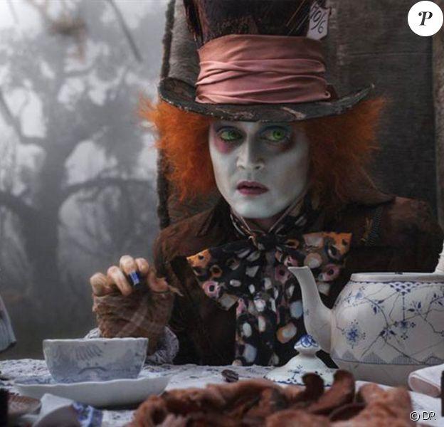 Des images d'Alice au Pays des Merveilles, de Tim Burton, en salles depuis le 24 mars 2010.
