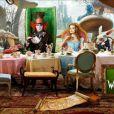 Des images d' Alice au Pays des Merveilles , de Tim Burton, en salles depuis le 24 mars 2010.