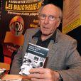 Claude Pinoteau au Salon du Livre de Paris, le 26 mars 2010