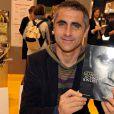 Laurent Jalabert au Salon du Livre de Paris, le 26 mars 2010