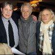Hugues Quester, Jean-Luc Moreau et Jean-Paul Farre lors de la conférence de  presse des Molières 2010