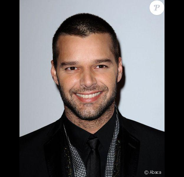 Ricky Martin à Los Angeles en janvier 2010