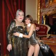 Jean-Claude Dreyfus et Lou Doillon pour le Gala de l'Union des Artistes au Cirque d'Hiver Bouglione le 29   mars 2010