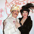 Bernard Le Coq et Anny Duperey pour le Gala de l'Union des Artistes au Cirque d'Hiver Bouglione le 29   mars 2010